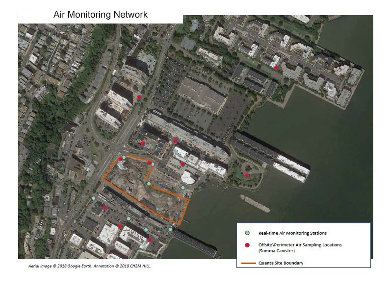 Proposed Monitoring Network for Phase 2
